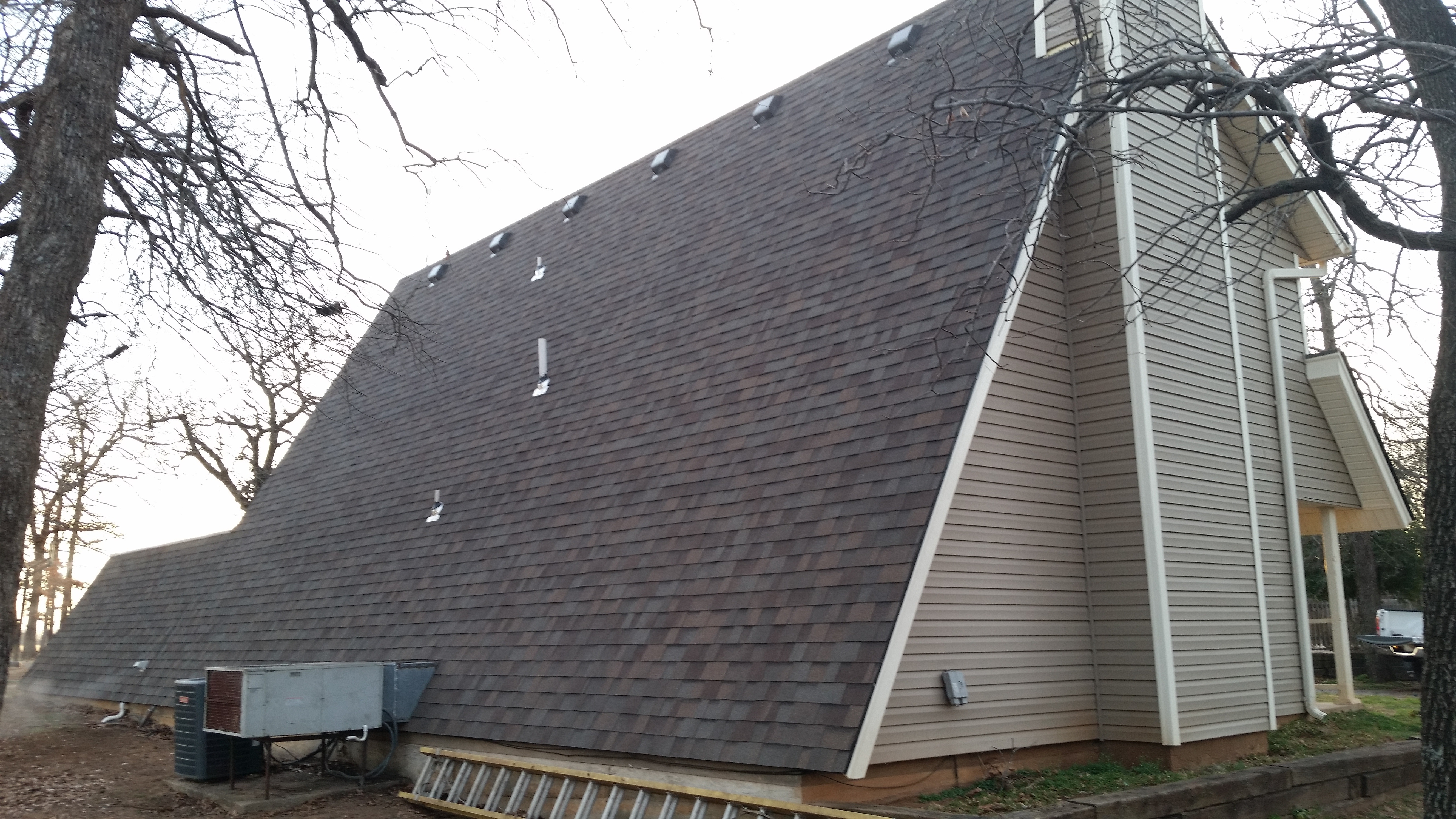 Residential Shingle Roof Metal Roof For Homes In Oklahoma